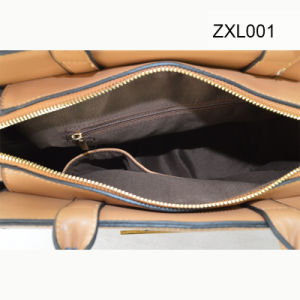 Zexin Zippered-Flap with Decorative Wardware PU Fashion Crossbody Handbag Zxl001 pictures & photos