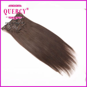 Double Weft 200g Clip in Hair Extension Human Hair Extensions Unprocessed Clip in Hair Extensions for Black Women pictures & photos
