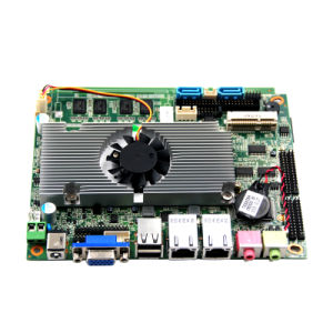 Intel Embedded D525 Motherboard with 18bits Lvds for Digital Signage pictures & photos