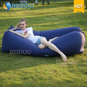 Factory DIY Cheap Beanbag Inflatable Sleeping Bags Beach Bed Air Bed Inflatable Air Sofa Laybag pictures & photos