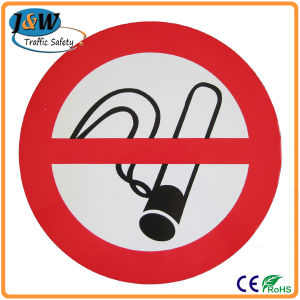 Plastic Warning Sign / No Smoking Sign Board pictures & photos