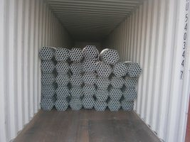 Q195 Black Pre-Galvanized Hot Dipped Galvanized Pipe pictures & photos