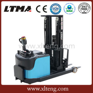 Ltma High Quality 1.5t Electric Reach Stacker for Sale pictures & photos