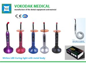 Hot Sale Wireless Best Price Dental LED Curing Light pictures & photos