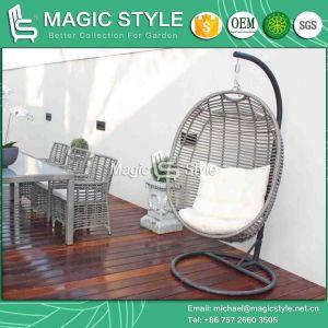 Wicker Swing Rattan Hammock Garden Cradle Leisure Chair (Magic Style) Foshan pictures & photos