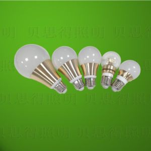 Golden Color Body LED Bulb Light