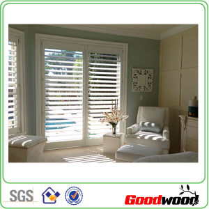 Vinyl Poly Waterbone Painting Window Plantation Shutter