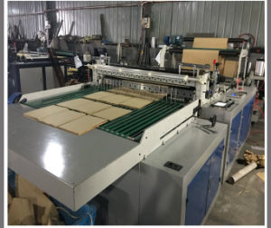 Full Automatic Slitting and Cutting Machine for Paper Roll (DC-HQ) pictures & photos