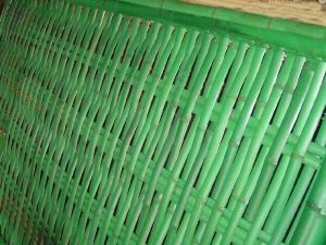 Artificial IVY Vine Leaf Split Bamboo Fence pictures & photos