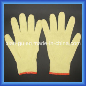 Blade Cut Resistance Level 4 10 Gauge Kevlar Gloves pictures & photos
