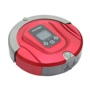 Pjt Mop Cleaning and Auto-Recharging 24W 2000mA Robot Vacuum Cleaner Home Appliance ABS+UV Pjt-4gtm6