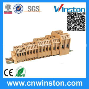 PCB Wire Connector Electric Screw Clamp Terminal Block with CE pictures & photos