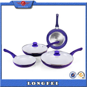 Anti Grease and Smoke 6 PCS Non-Stick Cookware Set pictures & photos