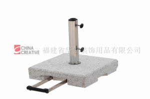 Square Umbrella Base-Flamed
