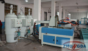 Highly Efficiency PU Shoes Sole Making Machine pictures & photos