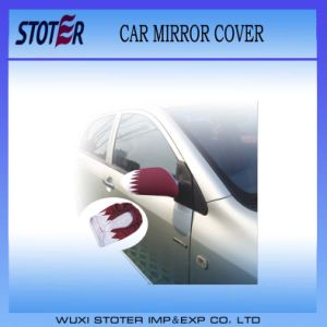 Cheap Qutar Car Mirror Flag