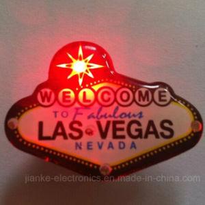 Las Vegas LED Blinking Magnet (3161) pictures & photos