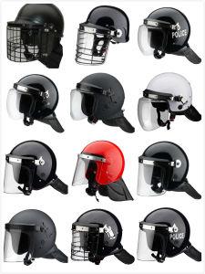 Reinforced Anti Riot Helmet Armor Helmet Military Helmet Anti Riot Equipment with Metal Grid Anti-Terrorism Casque pictures & photos