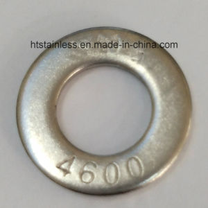 DIN125A 2.4600 Hastelloy B3 Flat Round Washer with Head Mark 4600 pictures & photos
