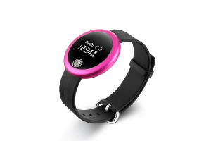 2016 Hot Sell Ultra-Thin Round Face Heart Rate Smart Wristband pictures & photos