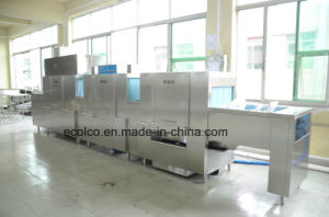 Automatic High Washing Capacity Commercial Dishwasher pictures & photos