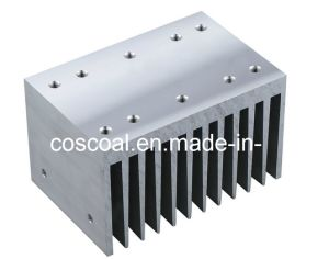 Aluminium Profile for Heatsink with CNC Machining for LED Lighting pictures & photos