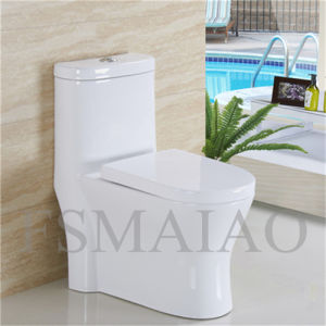 High Quality Chaozhou Sanitary Wares Siphonic One Piece Toilet (8105) pictures & photos