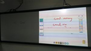 130inches Infrared Interactive Whiteboard, Single Projector pictures & photos