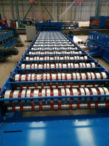 Made in China Glazed Tile Roof Roll Forming Machine-Tile Forming Machine-Roof Machine pictures & photos