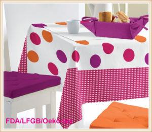 PVC/PEVA Printed Tablecloth/Table Oilcloth pictures & photos