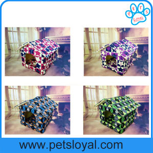 Pet Products Supply Canvas Waterproof Pet Dog Bed Factory pictures & photos