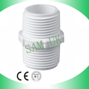 BSPT Threaded PVC Pipe Fitting Big Nipple pictures & photos