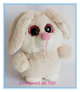 New Plush Sparkly Big Eyes Bunny Rabbit pictures & photos