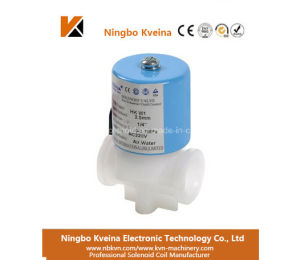 Good Quality PVC Kw1 Type 2 Inch Water Solenoid Valves for Water pictures & photos