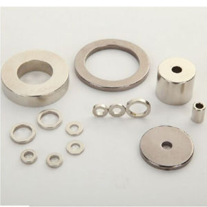 Permanent Sintered Strong Neodymium Ring Magnet (UNI-Ring-o1o) pictures & photos