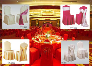 Modern Universal Satin Chair Covers for Sale pictures & photos