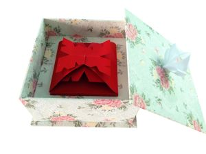 Beautiful Christmas Gift Box Paper Box (YH 1073)