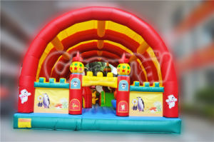 Large Inflatable Cartoon Obstacle Course, Inflatable Arch Amusement Park for Sale pictures & photos