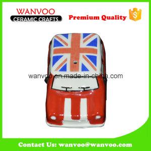 Ceramic Cartoon Car with Customized Decoration UK National Flag pictures & photos