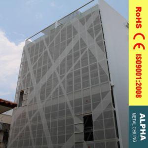 Aluminum Customized Exterior Laser Cutting Perforated Claddings pictures & photos