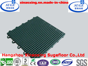 Good Material Suspended Sports Flooring Tiles pictures & photos