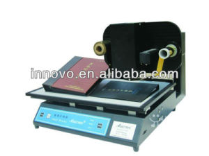 Plateless Digital Hot Stamping Foil Stamping Printer (ZX3050B) pictures & photos