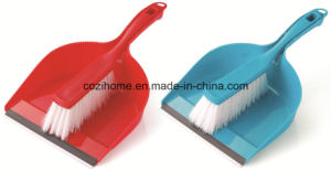 High Quality Plsastic Dustpan with Brush (3415) pictures & photos