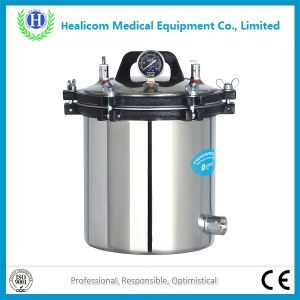 Yx-280b/B Deepened Portable Pressure Steam Autoclave Sterilizer pictures & photos