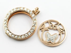 High Quality 316L Stainless Steel Fashion Locket Pendant for Gift Jewellery pictures & photos