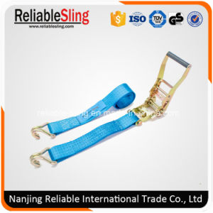 "2"" 50mm 4 Ton Ratchet Buckle Truck Trailer Load Restraint Strap Secure Vehicle pictures & photos"