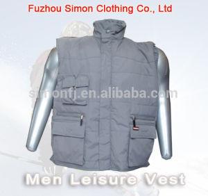 Winter Men Leisure Vest (SM-SW1503) pictures & photos