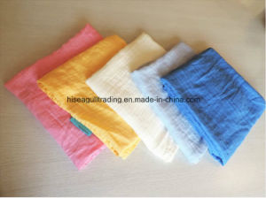 70%Bamboo 30%Cotton Muslin Swaddle Blanket, Solid Color pictures & photos