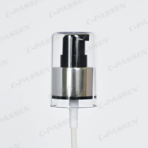 Aluminum-Plastic Cosmetic Cream Pump for Cosmetic Bottle pictures & photos