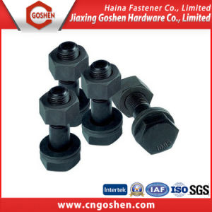 High Strength Black Heavy Hex Bolt pictures & photos